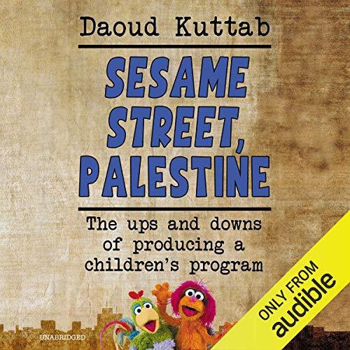 Page de couverture de Sesame Street, Palestine