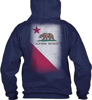 California Republic Sweatshirt - Gildan 8oz Heavy Blend Hoodie