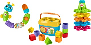 Fisher-Price Sort, Snap & Spin - Trío de juguete infantil