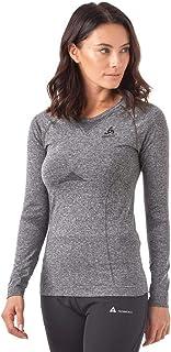Odlo Women's Performance Evolution Functional Long-Sleeved Shirt Grey Melange M