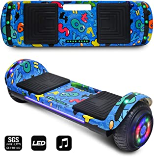 CHO POWER SPORTS 2019 Electric Hoverboard UL Certified Hover Board Electric Scooter with Built in Speaker Smart Self Balancing Wheels