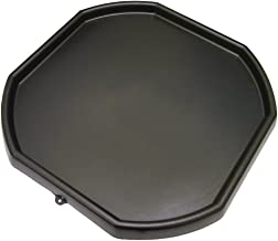 Large Black Plastic Builders Building Material Children Kids Play Mixing Tray Spot for Cement Mortar Sand Plastering Toy Fun Game School Play Time MIXING TRAY