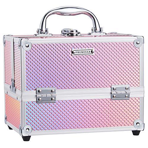 Frenessa Makeup Case 4 Trays Cos...