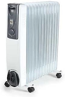 Tristar KA-5116 Calefactor eléctrico con 13 cuerpos, 2500 W, Blanco