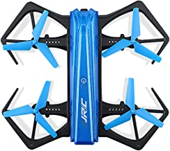 iuockg Mini Drone with 720P HD Camera Foldable RC Quadcopter Altitude Hold High-Speed Rotation, 3D Flips, G-Sensor, Headless Mode