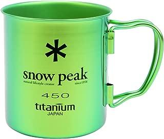Snow Peak Ti Single Wall 450 Mug