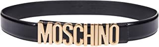 Luxury Fashion | Moschino Womens A80128007555 Black Belt | Season Permanent
