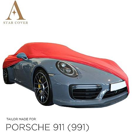 Star Cover Autoabdeckung Rot Porsche 911 991 Turbo SchutzhÜlle Abdeckplane Schutzdecke Auto