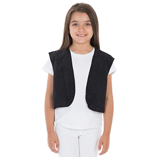 da28e379a88c8 Charlie Crow Black waistcoat for kids one size fits all.