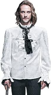 Camisas Steampunk góticas victorianas