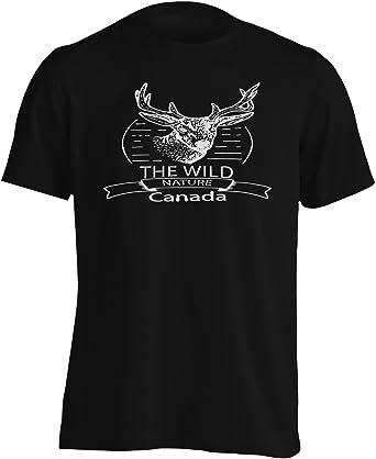 INNOGLEN La Naturaleza Salvaje de Canadá Camiseta de los Hombres v131m