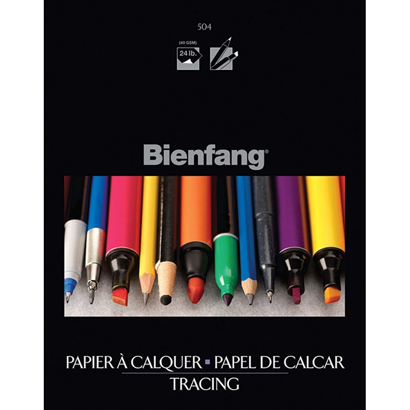 Bienfang 9-Inch by 12-Inch Tracing Paper Pad, 50 Sheets