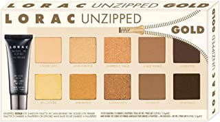 LORAC Unzipped Gold Shimmer and Matte Eye Shadow Palette, 6.3 oz.