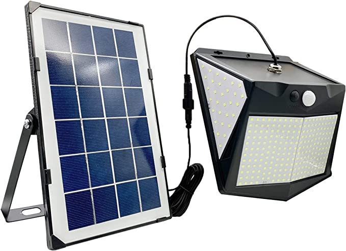 106 opinioni per VARICART 15W 300 LED 1500lm Lampada da Parete Solare, Sensore di Movimento PIR a