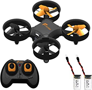 Mini Drone RC Quadcopter Best Toys for Kids and Beginners RC Helicopter Plane with Auto Hovering, 3D Flip, Headless Mode and 360°Rotation, Remote Control, Extra Battery, Safety Gifts