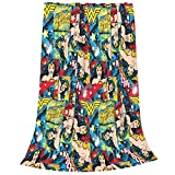 KAVIN Wonder-Woman Blanket Ultra-Soft Micro Fleece Throw Blanket Flannel Blankets for Couch Bed Living Room 40 X 50 Inch