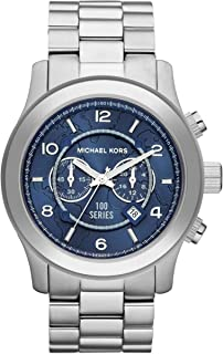 Michael Kors Mens Quartz Watch, Chronograph Display and Stainless Steel Strap MK8314