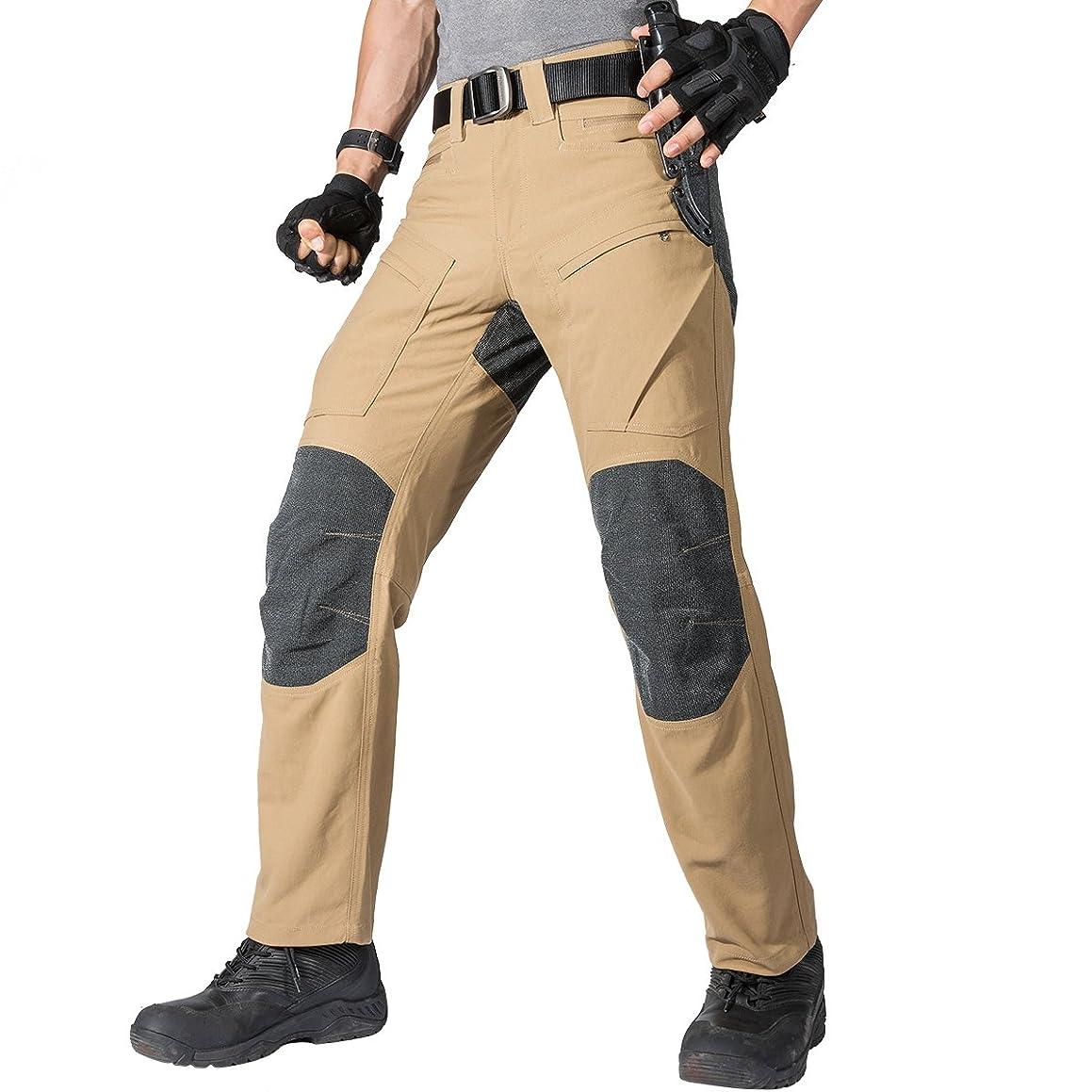 FREE SOLDIER Men's Pants Cordura Kevlar Fabric Tactical Pants Teflon Coating Waterproof Pant