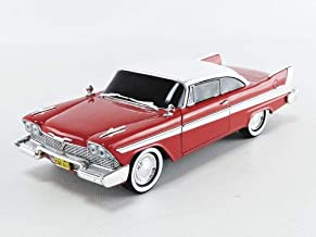 Greenlight 1: 24 Hollywood - Christine - 1958 Plymouth Fury Evil Version (Blacked Out Windows) 84082 Red