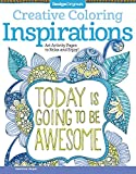 Creative Coloring Inspirations: Art Activity Pages to Relax and Enjoy!: 5507 (Creative Coloring Book)