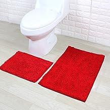Eanpet Chenille Bath Mat Non-Slip Microfiber Floor Mat Baby Bath Mat for Kids Ultra Soft Washable Bathroom Dry Fast Water ...