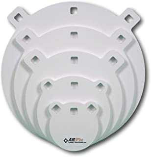 RANGETIME Targets- Quality 3/8, 1/2 Thick AR500 Steel Targets- Laser Cut Powder Coated Made in USA