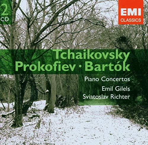 Tchaikovsky: Piano Concertos 1, 2 & 3 / Prokofiev: Piano Concerto 5 / Bartok: Piano Concerto 2