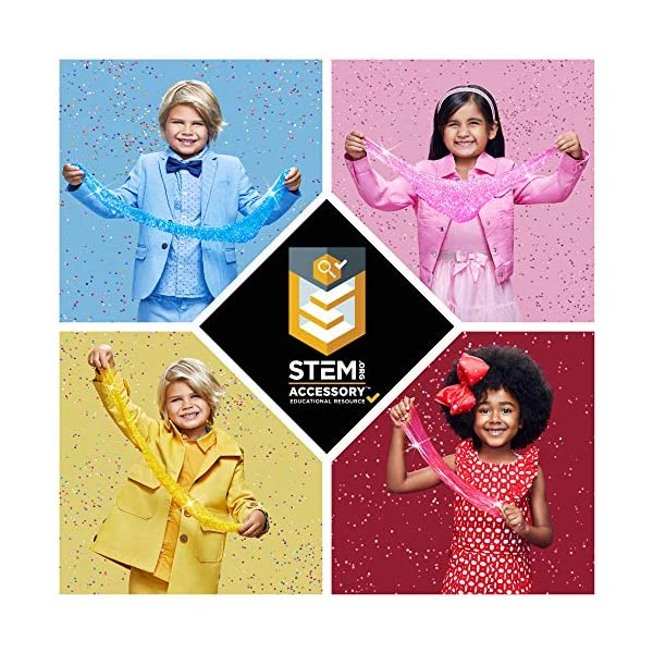 DIY Slime Kit Toy for Kids Girls Boys Ages 5-12, Glow in The Dark Glitter Slime Making Kit - Slime Supplies w/ Foam… 6