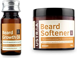 USTRAA Beard softener and beard growth oil