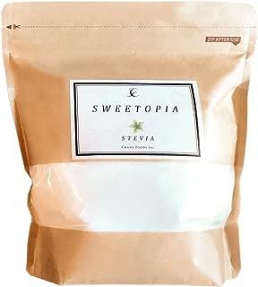 CraneFoods ( クレインフーズ ) スイートピア ステビア [ 100%天然由来 カロリーゼロ 糖類ゼロ ] 800g ( 砂糖の3倍の甘さ ) ロカボダイエット エリスリトール
