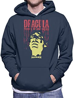 Hammer Dracula Prince of Darkness Poster Men's Hooded Sweatshirt