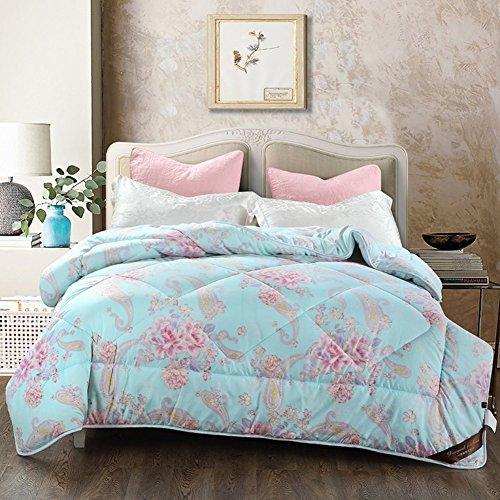 WENXXXXX Enarenado Grueso del Invierno Piel Tibia Dormitorios Individuales Dobles Eran-K 180x220cm(71x87inch)