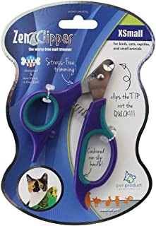 Zen Clipper Pet Nail Clippers - The Worry-Free Nail Scissors - Unique Blade Clips