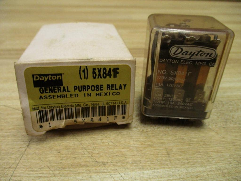 Dayton New York Mall Electric 5X841F OFFicial shop Relay