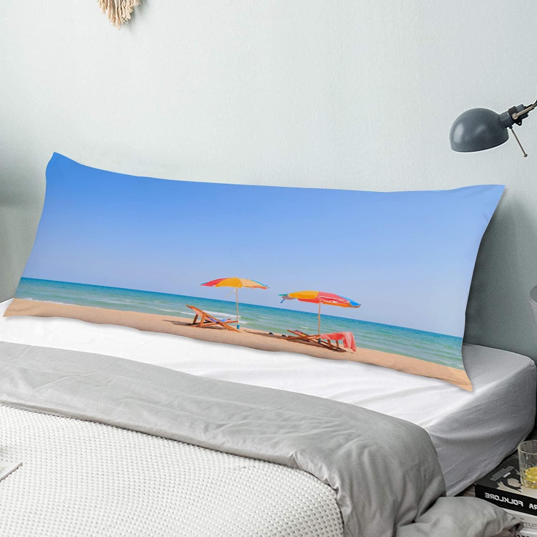 KENADVI Max 82% OFF Body Pillow Max 58% OFF Cover Pillowcase Leisu Beach Umbrella The on