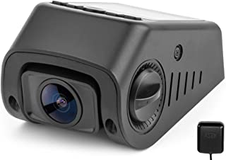 Black Box B40-C Capacitor GPS Stealth Dash Cam - Covert Versatile Mini A118 Full HD 1080P Car DVR - 170° Super Wide Angle 6G Lens - 160°F Heat Resistant - G-Sensor WDR Night Vision Motion Detection