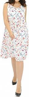 OZEA LADY Women's Plus Size Dress V-Neck Slim-Cutting Sheath Lace Maxi Dresses