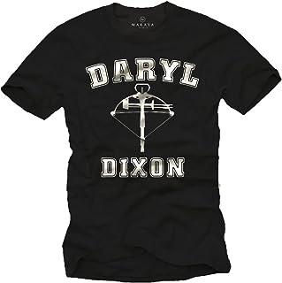 Daryl Dixon Camiseta Negra Hombre