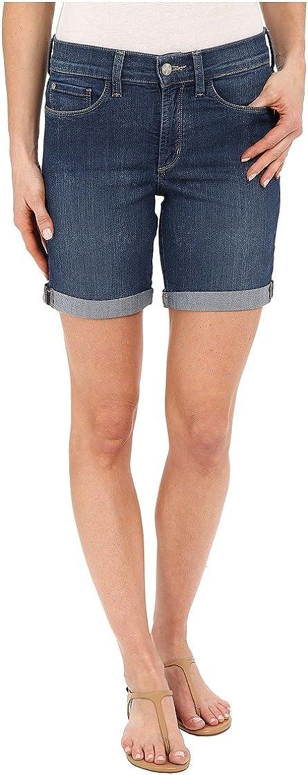 NYDJ Women's Petite Size Avery Short in Premium Lightweight Denim