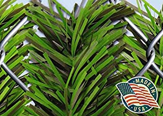 Forevergreen Hedge Slats for 4' Chain Link Fence - MADE IN THE USA!