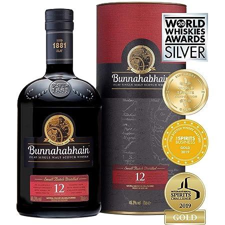 Bunnahabhain 12 Year Old Islay Single Malt Scotch Whisky, 70 cl