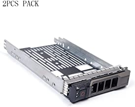 (2PCS Pack) 3.5 inch Hard Drive Caddy Tray Compatible for DELL PowerEdge Servers 13th Generation R230, R330, T330, R430, T430, 12th Generation R320, T320, R420, T420
