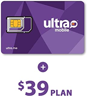 Ultra Mobile $39 Plan with 1 Month Service
