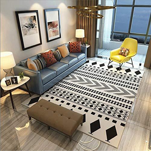 Feixunfan vloerkleed zelf versierde, grote, antislip tapijtmatten maken het decor van moderne, ongedwongen boerderhuisjes helemaal af.
