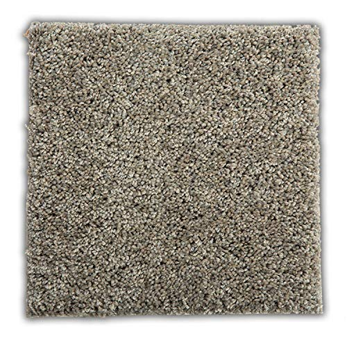 """Smart Squares Easy Street 9"""" x 9"""" Premium Residential Soft Carpet Tiles, Peel and Stick for Easy DIY Installation, Seamless Appearance, Made in USA (Sample, 909 Lava)"""