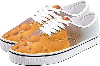 Schmitz Unisex Low Cut Canvas Loafer Sneakers for Men Women Casual Shoes