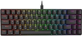 RK ROYAL KLUDGE RK68 65% RGB Mechanical Gaming Keyboard, Small Compact 68 Keys Wired Gaming/Office Keyboard, Red Switch Ke...