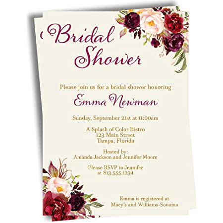 100 Personalized Custom Precious PM Wedding Bridal Shower Rehearsal Invitations Announcement Save the Date Cards