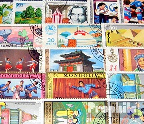 Prophila Collection Mongolei 50 Verschiedene Sondermarken (Briefmarken für Sammler)