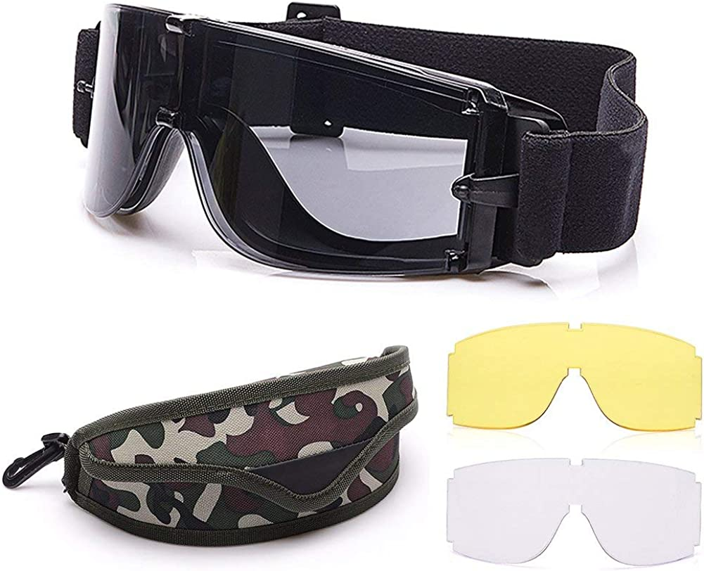 Trust Elemart 1 year warranty Tactical Airsoft Goggles - Army Safety M
